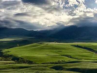 Bighorn Mountain Foothills